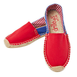 Red / Royal Blue Espadrille