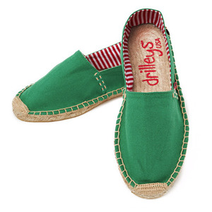 Primary Green Espadrille