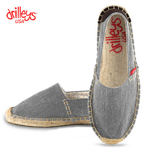 D2 Wash Grey Espadrille